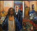 Edvard Munch The Artist And His Model 1919-1921.jpg