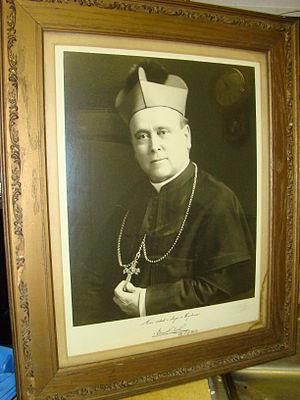 Edward Kozłowski - A portrait of Bishop Kozlowski.