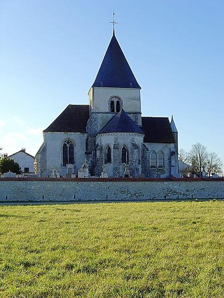 L'église de Bannes (Marne, France)