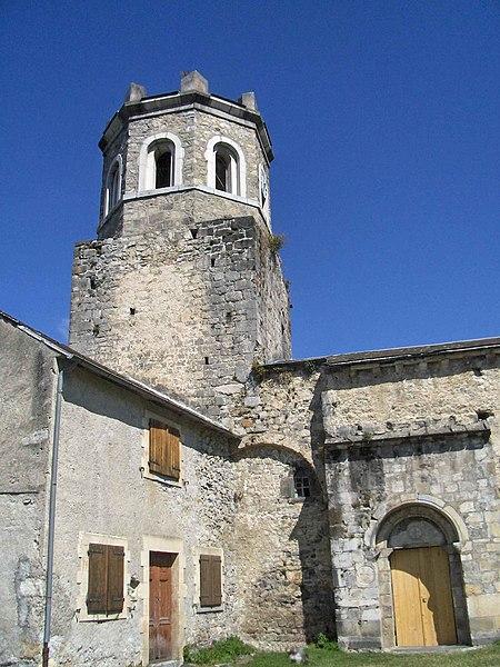 Église de Saint-Pé-d'Ardet (Haute-Garonne, France).