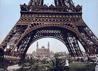 Latticework - Image: Eiffel Tower and the Trocadero, Exposition Universal, 1900, Paris, France