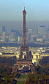 Eiffel Tower from the Tour Montparnasse, 2006.jpg