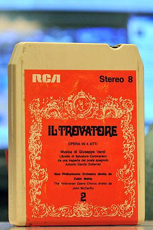 Bill Lear - 8-track tape