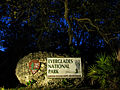 Eingangsstein Everglades Nationalpark, Florida.JPG