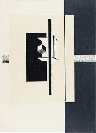 El Lissitzky - Proun. 1st Kestner Portfolio