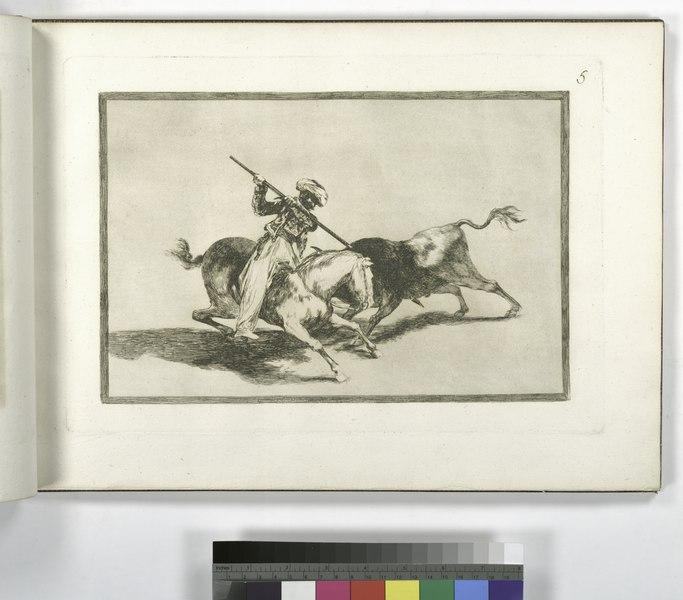 File:El animoso moro Gazul es el primero que lanceó toros en regla (NYPL b14923841-1109411).tiff