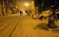 El bayadh centre ville , boulevard de la mairie principale sous la neige ( Géryville ).png