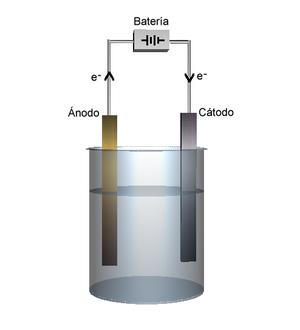 Célula electrolítica