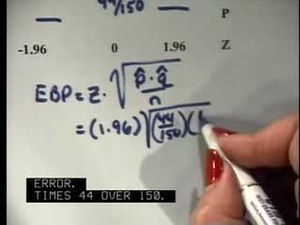 File:Elementary Statistics Video Lecture Confidence Intervals.ogv