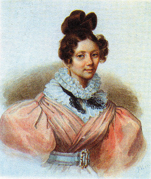 портреты дам знакомые пушкина