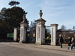 Principal Entrance Gates and Railings Fronting Kew Green (now known as Elizabeth Gate)