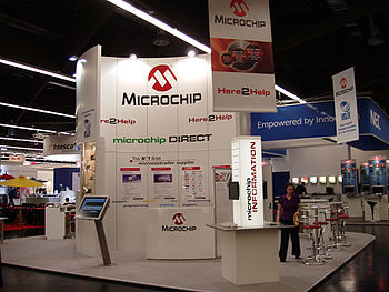 Microchip Technology on trade fair Embedded Wo...