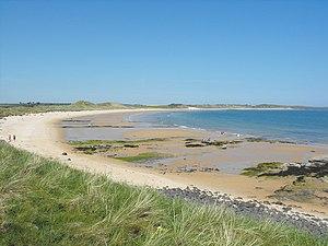 North Northumberland Coastal Plain - Embleton Bay on the 'soft' part of the coast