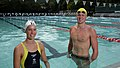 Emma and David McKeon - Wests Illawarra Pool.jpg