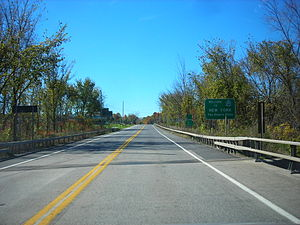 U.S. Route 4 in New York - Entering New York on US 4 southbound