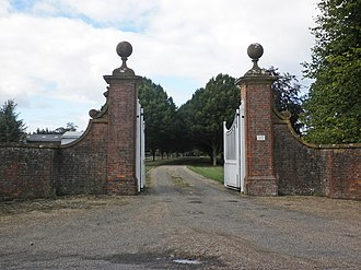 Burton Pynsent House - Entrance to Burton Pynsent House