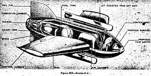 """Enzian - Messerschmitt """"Enzian"""" E-4"""