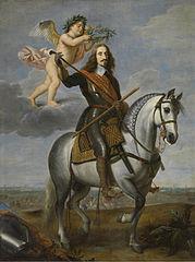 Equestrian portrait of Archduke Leopold Wilhelm