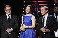 """Equipo de """"El Club"""", de Pablo Larraín recibe Premio Fénix 2015, Mejor Película.jpg"""