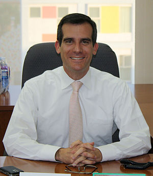 Los Angeles mayoral election, 2013 - Image: Eric Garcetti cropped