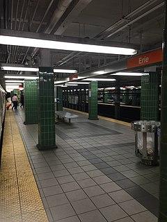 Erie station (SEPTA) Rapid transit station in Philadelphia