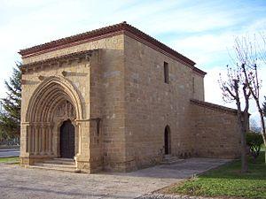 Bañares - Hermitage of Santa Cruz.