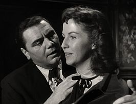 Borgnine en Blair in een scene uit de film Marty