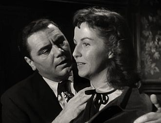 Marty (film) - Ernest Borgnine with Betsy Blair in the trailer for Marty, 1955