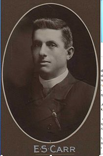 Ernest Carr Australian politician