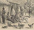 Escena Mapuche durante juego de la Chueca por Claudio Gay.jpg