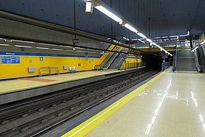 Linea 3 Metro De Madrid Wikipedia La Enciclopedia Libre