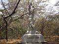 Estatua en la quinta de san pedro alejandrino.JPG
