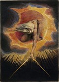Gud som «Ancient of Days» av William Blake