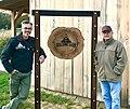 Evan Jr and Evan Sr at The Building Barn 2017.jpg