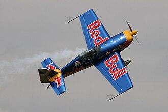 Péter Besenyei - Péter Besenyei piloting Extra 300S