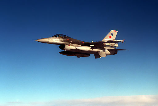 تركيا ستكشف عن صاروخين جو-جو يعملان على متن مقاتله F-16  512px-F-16C_Falcon_from_the_Turkish_Air_Force