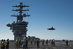 F-35C Joint Strike Fighter conducts its first launch from an aircraft carrier 141104-N-IP743-399.jpg