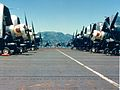 F4U-4s of VMF-323 on USS Sicily (CVE-118) at Sasebo 1951.jpg