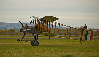 Fokker Scourge - Restored FE2b, Masterton, New Zealand, 2009