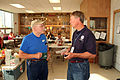 FEMA - 30069 - FEMA worker and resident talk in Kansas.jpg