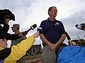 FEMA - 39289 - FEMA's Region VII, Richard Hainje speaks to the press in Kansas.jpg