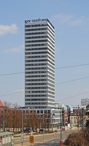 Oderturm - Image: FFO 04 13 Oderturm