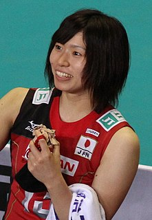 Risa Shinnabe Japanese volleyball player