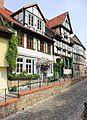 Fachwerkhäuser in Altstadt Qudlinburg. IMG 4188WI.jpg