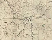 Military map of Beersheba