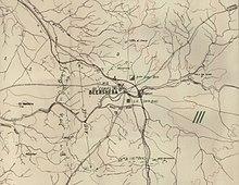 Mapa militar de Beersheba