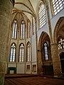 Famagusta - Gazimagusa Lala-Mustafa-Pasha-Moschee (Nikolauskathedrale) Innen Chor 1.jpg