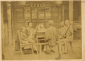 Family at the Table Accompanied by Musicians. China, 1874-75 WDL1915.png