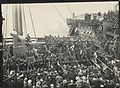 Farewell to the troopship ASCANIUS (7978545140).jpg