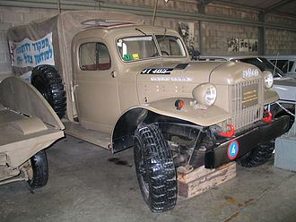 Fargo Trucks - Fargo Power Wagon truck in Batey ha-Osef Museum, Israel